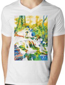 Living Water #2 Mens V-Neck T-Shirt