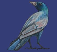 Grackle Tee by Lynnette Shelley