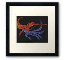 Distorted Combo Framed Print