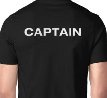 Captain (White Text) Unisex T-Shirt
