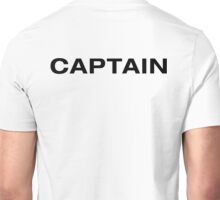 Captain (BlackText) Unisex T-Shirt