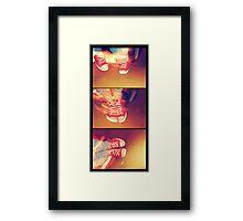Dancing! - Argentina Framed Print