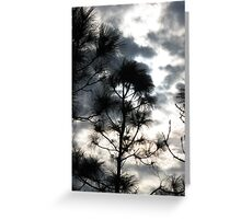Sunset Through Clouds II Greeting Card