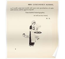 Mrs Leicester's School Charles & Mary Lamb with Minifred Green 18xx 0022 Susan Poster