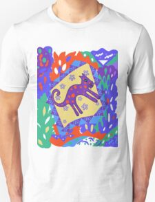 """Leaping Lion""  T-Shirt"