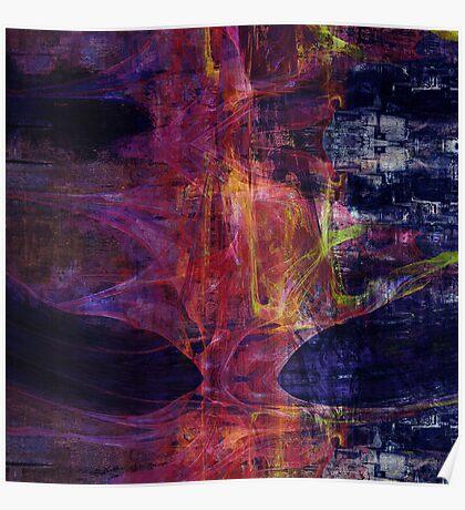 Mariana abstraction Poster