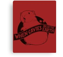 When Pigs Ruled the Earth Canvas Print