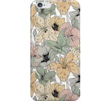 Garden pattern iPhone Case/Skin