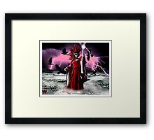 Lightning Queen Framed Print