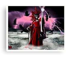 Lightning Queen Canvas Print