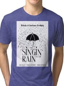 Singin' in the Rain Movie Poster Tri-blend T-Shirt