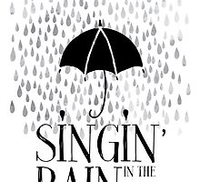 Singin' in the Rain Movie Poster by NordicStudio