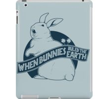 When Buns Ruled the Earth iPad Case/Skin