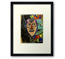 Do you remember me when I was you? Framed Print