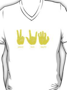 Peace Love Baylor [gold/white] T-Shirt