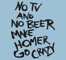 no tv and no beer make homer go something something by rawline