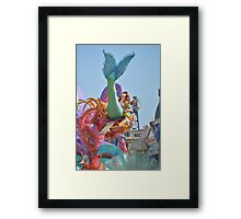 Flippin' Your Fins  Framed Print