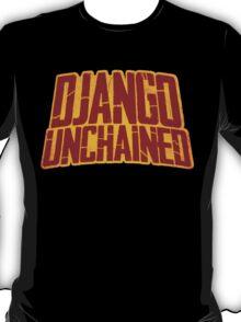DJANGO UNCHAINED - Typography design T-Shirt