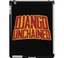 DJANGO UNCHAINED - Typography design iPad Case/Skin