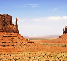 The Two Mittens of Monument Valley by Gregory Ballos | gregoryballosphoto.com