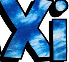 AXiD Tie Dye Sticker