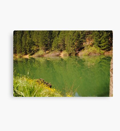 Rollins Lake Canvas Print