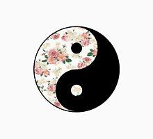 Floral Yin Yang  Unisex T-Shirt