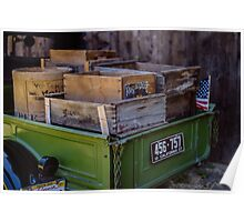 Trucks and Crates Poster