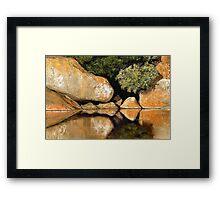 Tidal River Serenity Framed Print