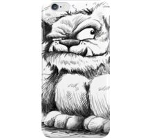 The Grunkle Chunk - Furry Monster iPhone Case/Skin