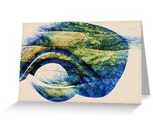 Marble Eye Greeting Card