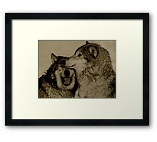 Blood Brothers Framed Print