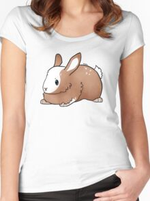 Bunny Grump Women's Fitted Scoop T-Shirt