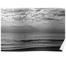 Cool Morning paddle Poster