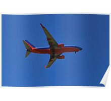 Plane coming in to land Poster