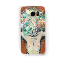The Vulnerability Evoked in Failing to Capture the Mind's Ceaselessly Combusting Ephemera Samsung Galaxy Case/Skin