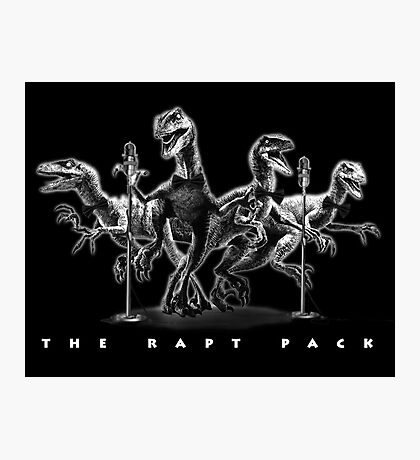 The Rapt Pack Photographic Print