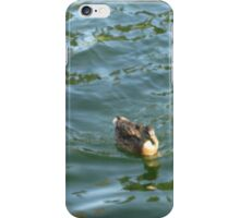 Blue Water Duck iPhone Case/Skin