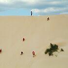 Dune Scramble,Robe South Australia by Joe Mortelliti