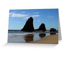 GlassHouse Rocks, Narooma Greeting Card