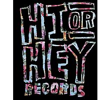 Hi or Hey Records - Floral (5SOS) Photographic Print