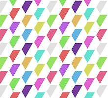 Colored Hexagons [Half] by Faction28