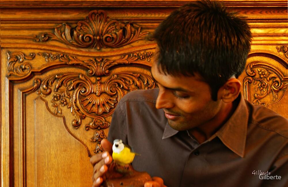 The Bird Lover by Gilberte