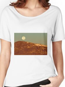 Moon Over Mount Ida Women's Relaxed Fit T-Shirt