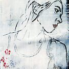 Poems, Potatoes - (self portrait - homage to Sylvia Plath) by Simone Maynard