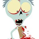 Fred The Zombie - Oh Guts! by Calvin Innes