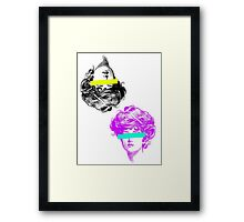 girls girls girls  Framed Print