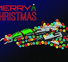 Merry Christmas from the Normandy - Style 1 by Elaine Smith
