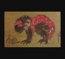 'Monkey' by Katsushika Hokusai (Reproduction) T-Shirt