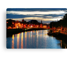 The effervescent Dublin Canvas Print